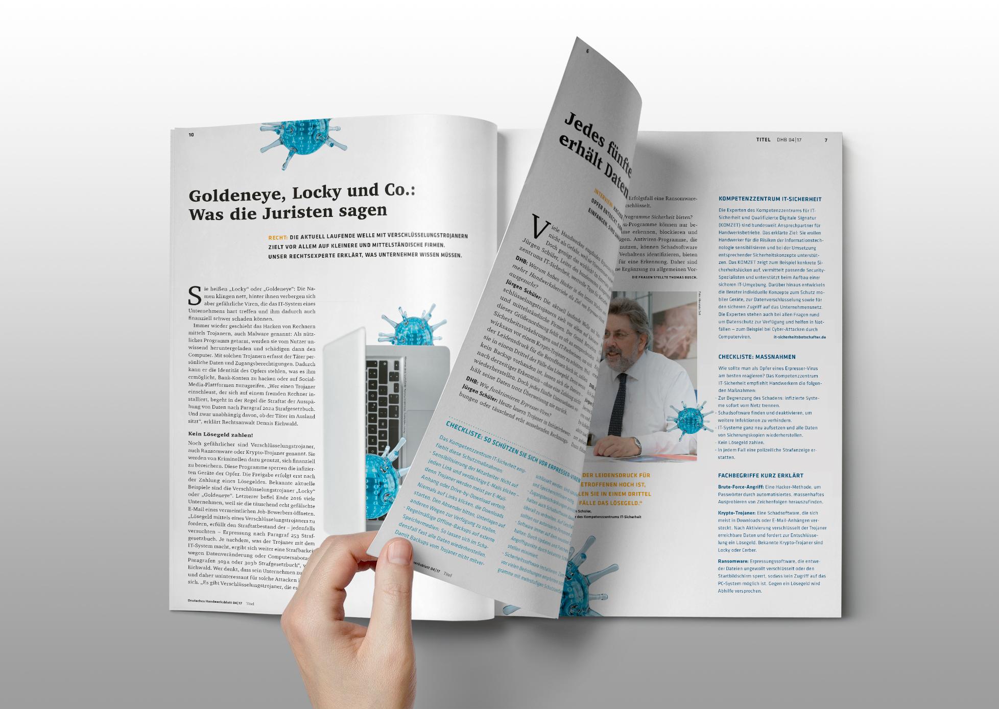 Deutsches Handwerksblatt Magazin