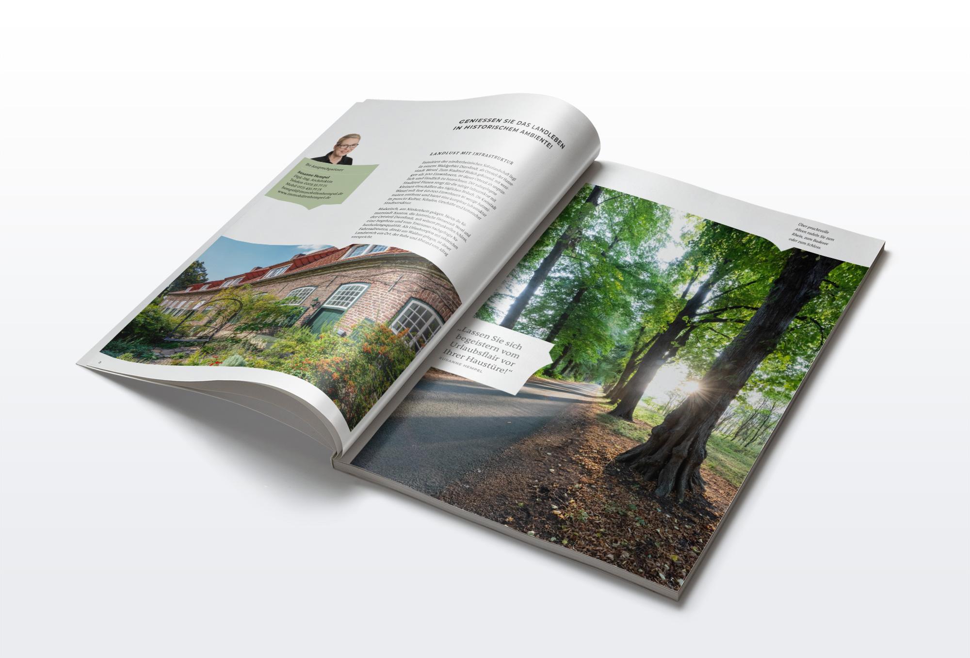 Diersfordter Höfe Broschüre