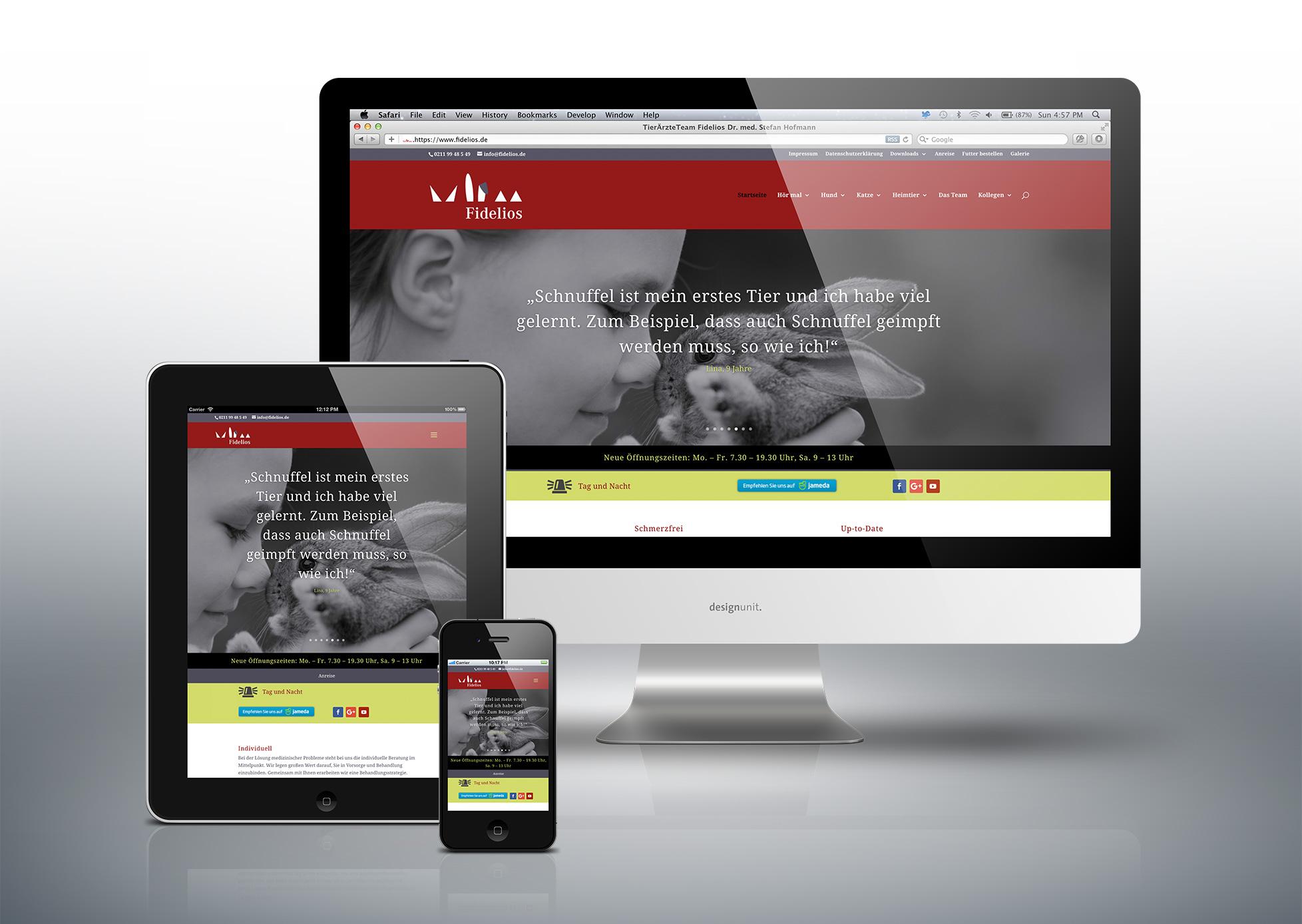 Fidelios Website