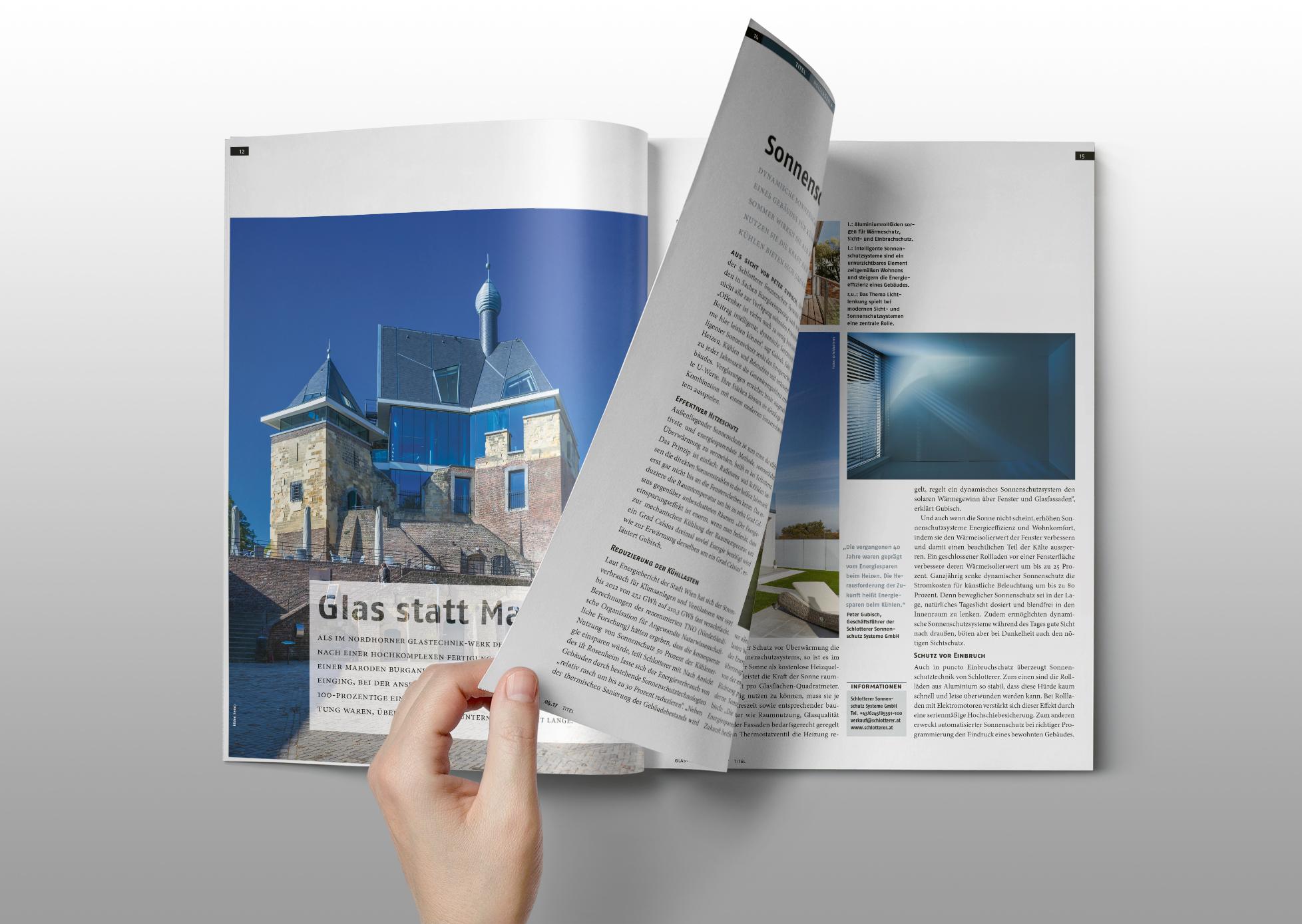 Glas+Rahmen Magazin