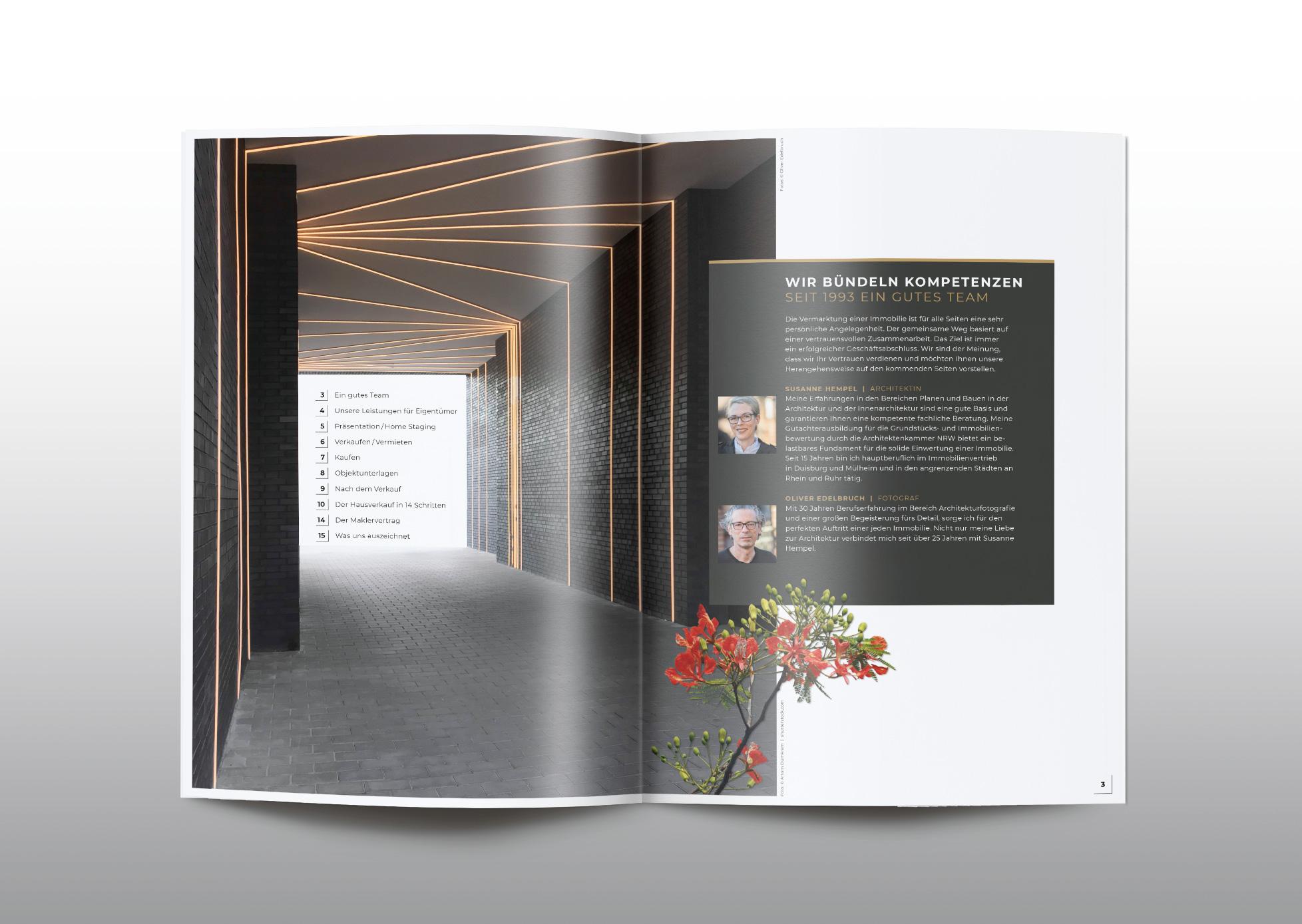 Immobilien Hempel Imagebroschüre