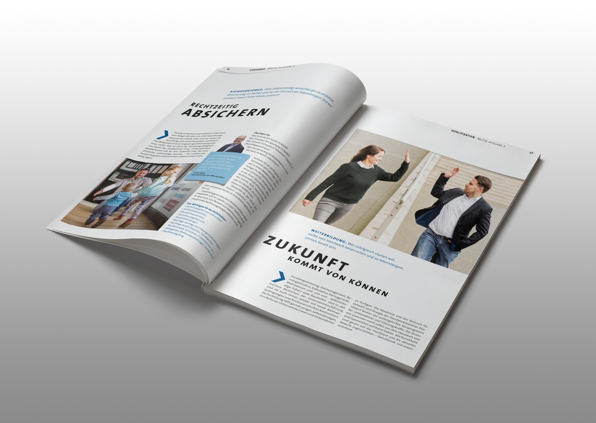 Existenzgründermagazin Mutig