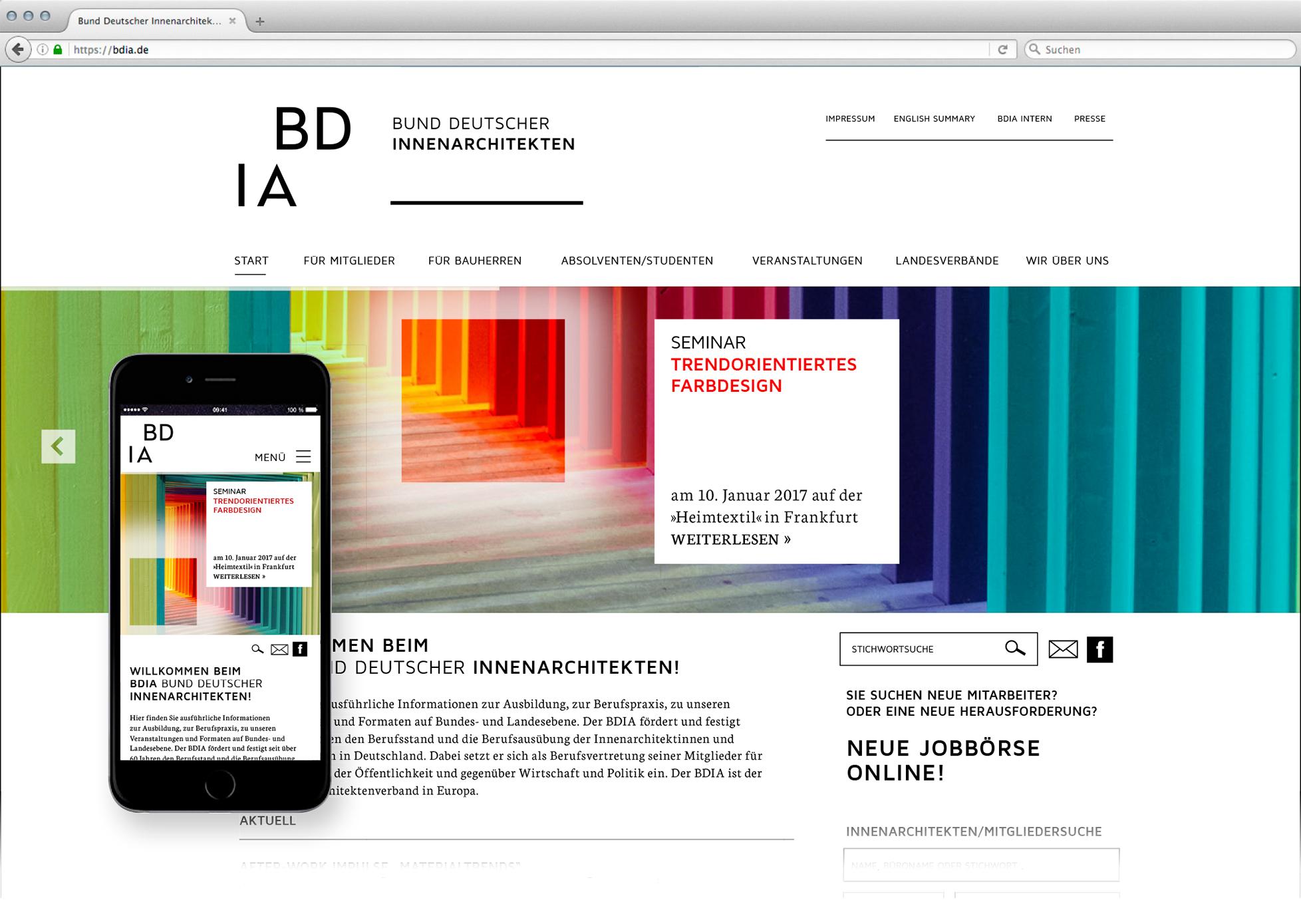 BDIA Revolution Website